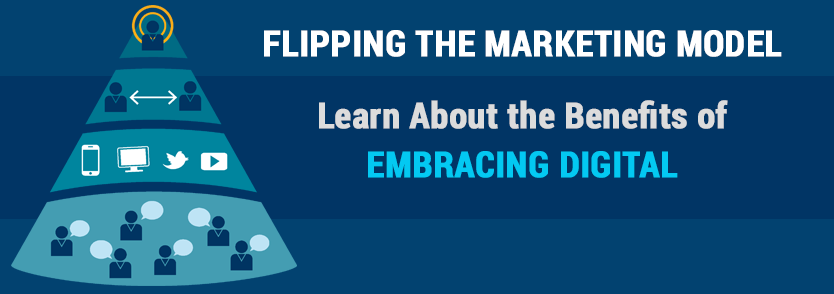 Flipping the Marketing Model: Learn About the Benefits of Embracing Digital