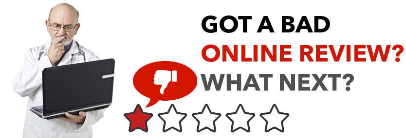 Got a Bad Online Review? What Next?