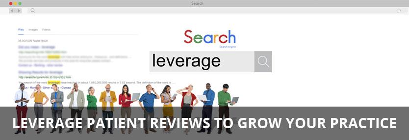 Leverage Patient Reviews to Grow Your Practice