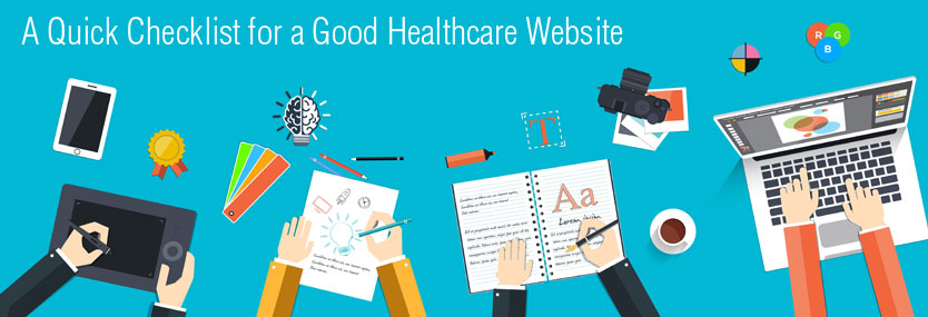 A Quick Checklist for a Good Healthcare Website