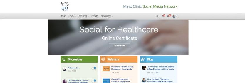 Mayo Clinic Social Media Network