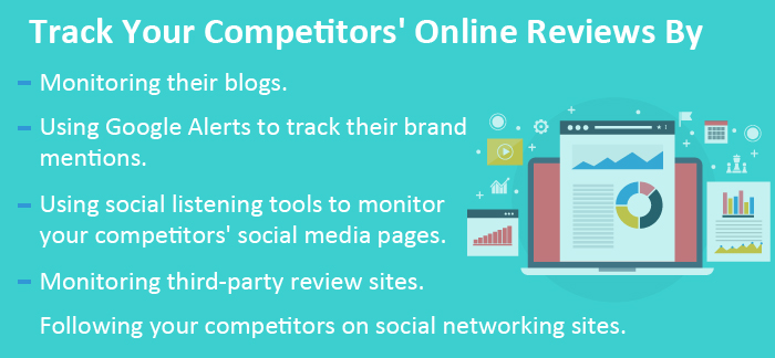 Tips to track your competitors' negative reviews